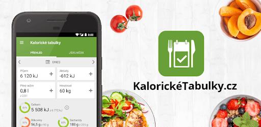Kalorické tabulky - hubnutí a počítání kalorií pc screenshot