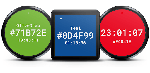 Hex Color Watch Face pc screenshot