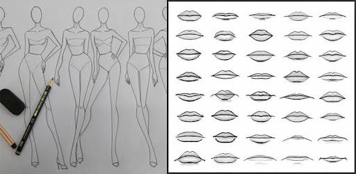 Drawing Human Body Step by step - Tutorial  ✏️ pc screenshot