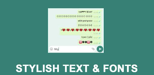 Stylish Text : Chat with Styles (Stylish Fonts) pc screenshot