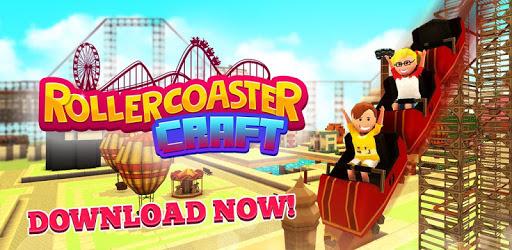 Roller Coaster Craft: Blocky Building & RCT Games pc screenshot
