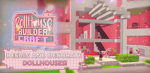 Dollhouse Builder Craft: Doll House Building Games pc screenshot