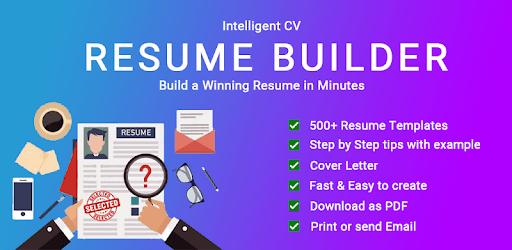 resume builder cv maker app free cv templates 2019 for pc