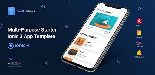 Deco UI Kit - Ionic 4 Starter App Template pc screenshot