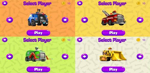 Paw Big Race Patrol pc screenshot