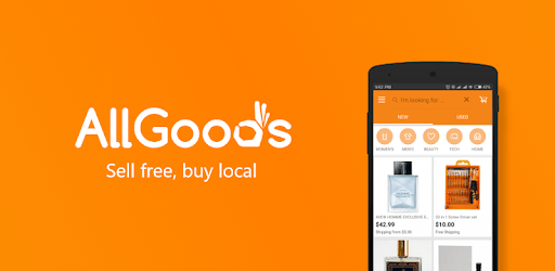 AllGoods - Sell free, buy local pc screenshot