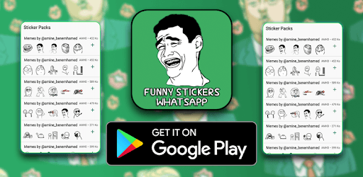 Funny Stickers for Whatsapp pc screenshot