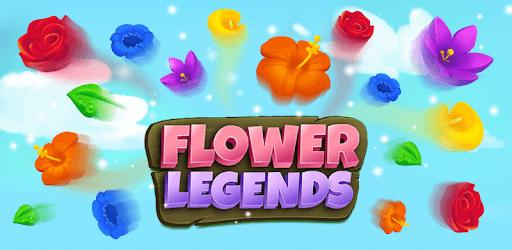Flower Legends Match 3 pc screenshot