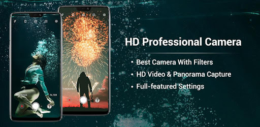 HD Camera - Video, Panorama, Filters, Beauty Cam pc screenshot