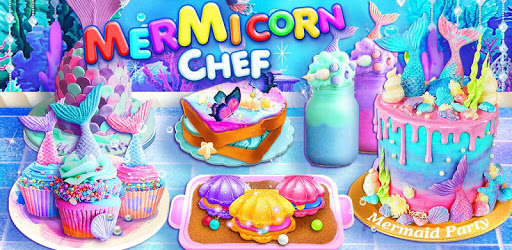 Unicorn Chef: Mermaid Cooking Games for Girls pc screenshot
