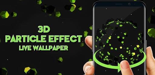 3D Particle Effect Interactive Live Wallpaper pc screenshot