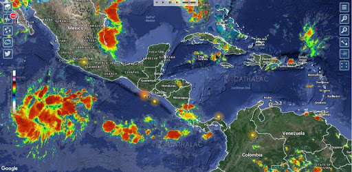 SERVIR - Weather, Hurricanes, Earthquakes & Alerts pc screenshot