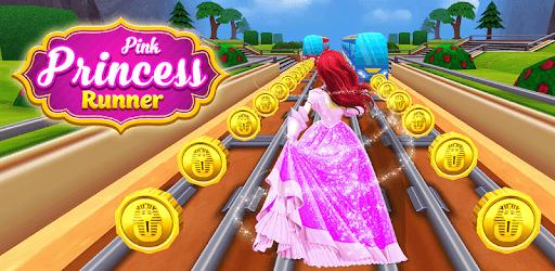 Pink Princess Run - Subway Escape Girl Run Temple pc screenshot