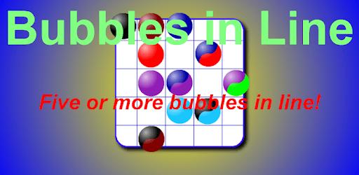 Bubbles in Line pc screenshot
