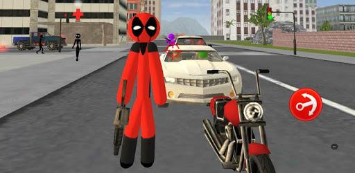 Stickman Deadpool Rope Hero pc screenshot
