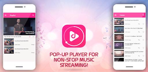 Tny Free Music Mp3 Streamer - Trendy Music Videos pc screenshot