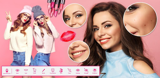 You Beauty Makeup : InstaSelfie Makeover camera pc screenshot