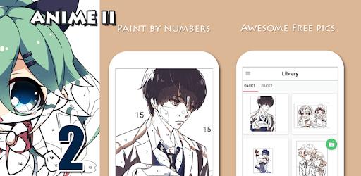 Anime II - Paint by Number Girls n Boys pc screenshot