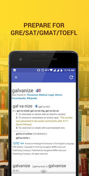 Word of the Day - Vocabulary Builder APK screenshot 1