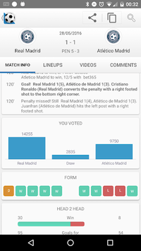 Football Live Scores APK screenshot 1