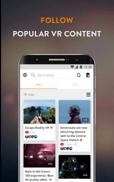 Fulldive VR - Virtual Reality APK screenshot 1