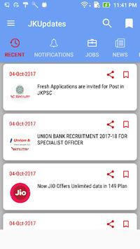 JKUpdates APK screenshot 1