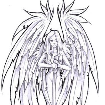 ANGEL TATTOO Wallpapers v1 APK screenshot 1