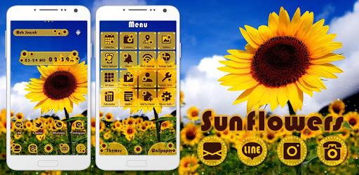 Summer Wallpaper Sunflowers pc screenshot