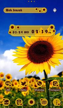 Summer Wallpaper Sunflowers APK screenshot 1