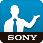 Support by Sony: Find support icon