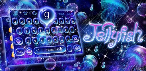 Lucid Jellyfish Keyboard Theme pc screenshot
