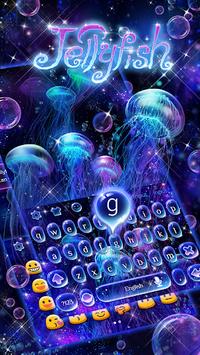 Lucid Jellyfish Keyboard Theme APK screenshot 1