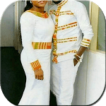 African Couple Outfits - African Dresses icon