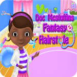 Fantasy Hairstyle, dress up fashion games for girl icon