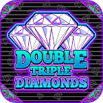 Double Triple Diamonds Slots - Free Slots icon