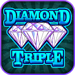 Diamond Triple - Free Slots Machine icon