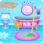 Princess Ice Castle Cleaning and Decoration icon