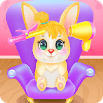 Cute Bunny Caring and Dressup icon