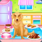 Cute Lady Labrador Caring icon