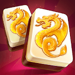 Mahjong Treasures - free 3d solitaire quest game icon