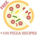+100 pizza recipes  offline icon