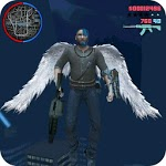 Immortal Angel Wings Hero : Devil Crime City icon