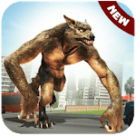 The Angry Wolf Simulator : Werewolf Games icon