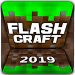 Flash Craft: Sandbox Adventures Building Explore icon