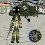 US Army Stickman Rope Hero counter terrorist APK icon