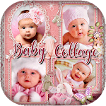 Baby Collage : Name, Card, Pics & Photo Frames icon