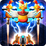 Chicken Galaxy Infinity Shooter -Space Attack 2018 icon
