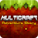 MultiCraft Crafting Adventure & Building Games icon