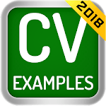 CV Examples 2018 for pc icon