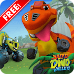 Blaze Speed Into Dino Monster Valley icon